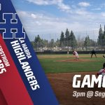 Varsity Baseball Hosts La Habra at 3pm!