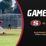 Varsity Baseball Hosts Cerritos at 3pm