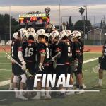 Boys Varsity Lacrosse beats Valencia/Placentia 9 – 1