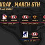 Varsity Schedule – Friday, March 6th