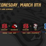 Varsity Game Schedule – Wednesday, March 11th