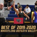 Best of 2019-2020 #15 – Girls Wrestling Defeats Valley 49-21
