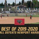 Best of 2019-2020 #20 – Softball defeats Newport Harbor, 3-2