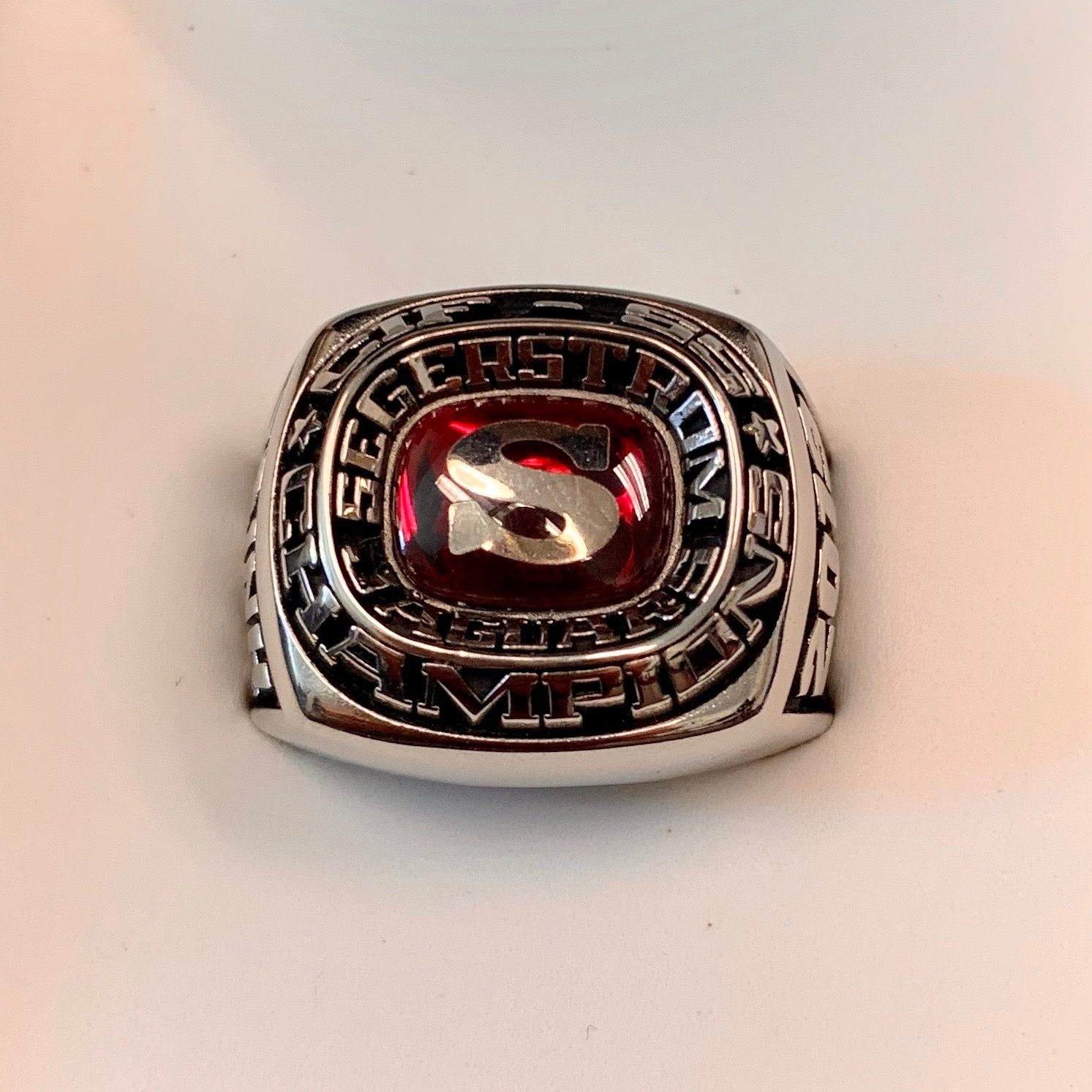 Girls Tennis CIF Championship Rings