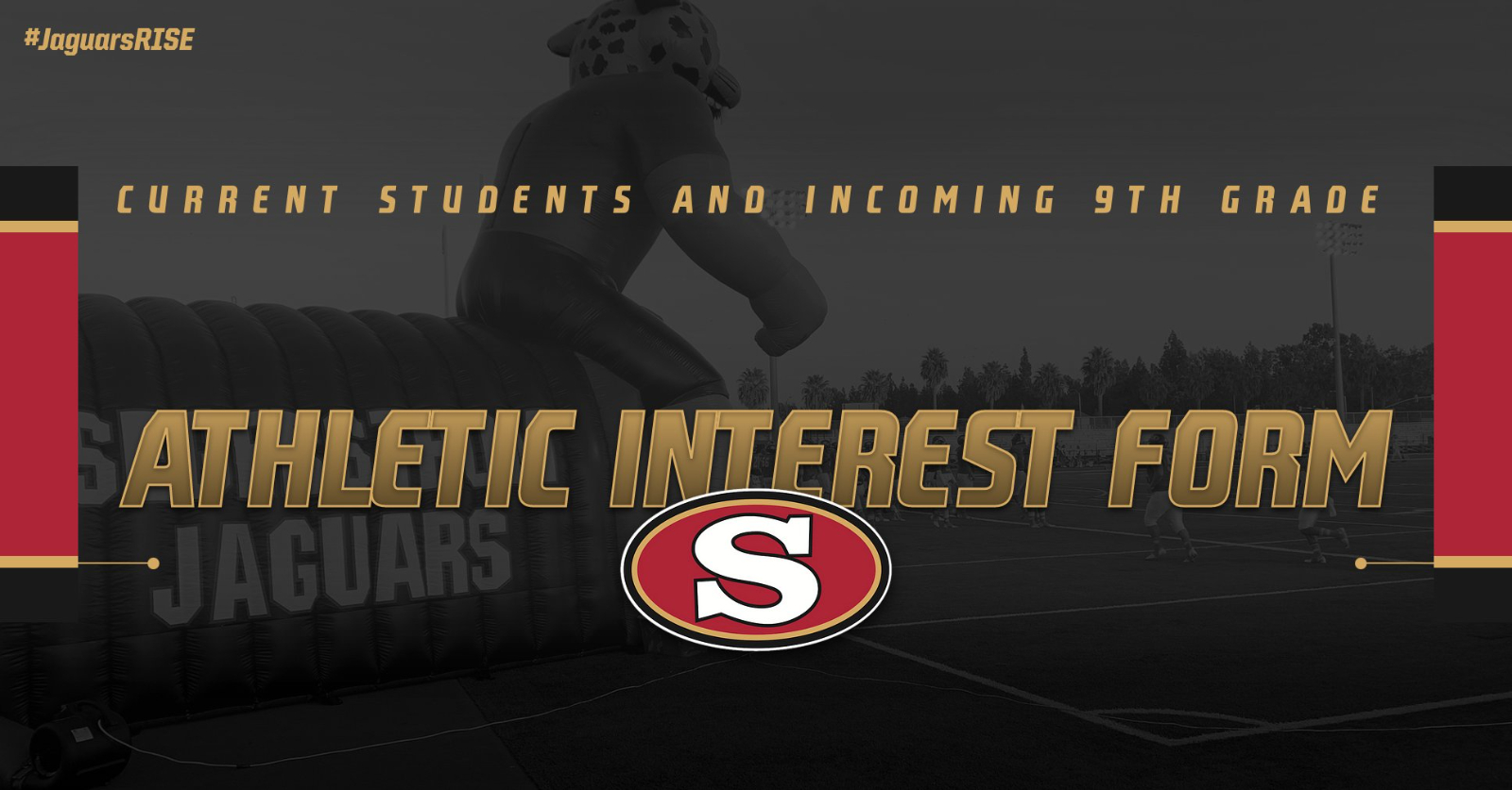 Athletic Interest Form – Current and Incoming Students