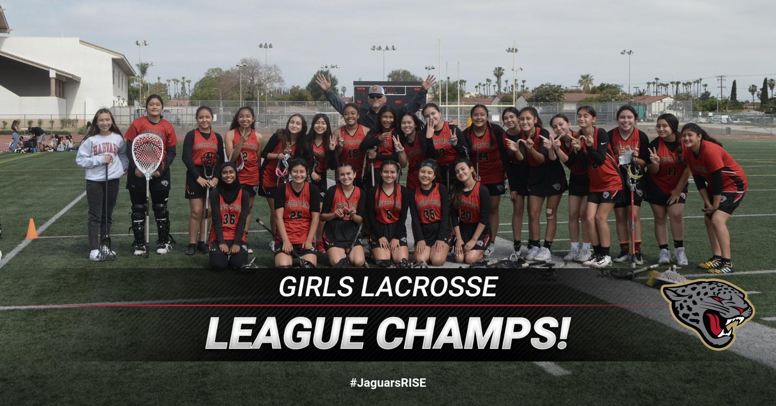 Girls Lacrosse – League Champs!