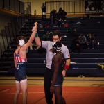 Wrestling Splits Matches with Clarkston & Alexander