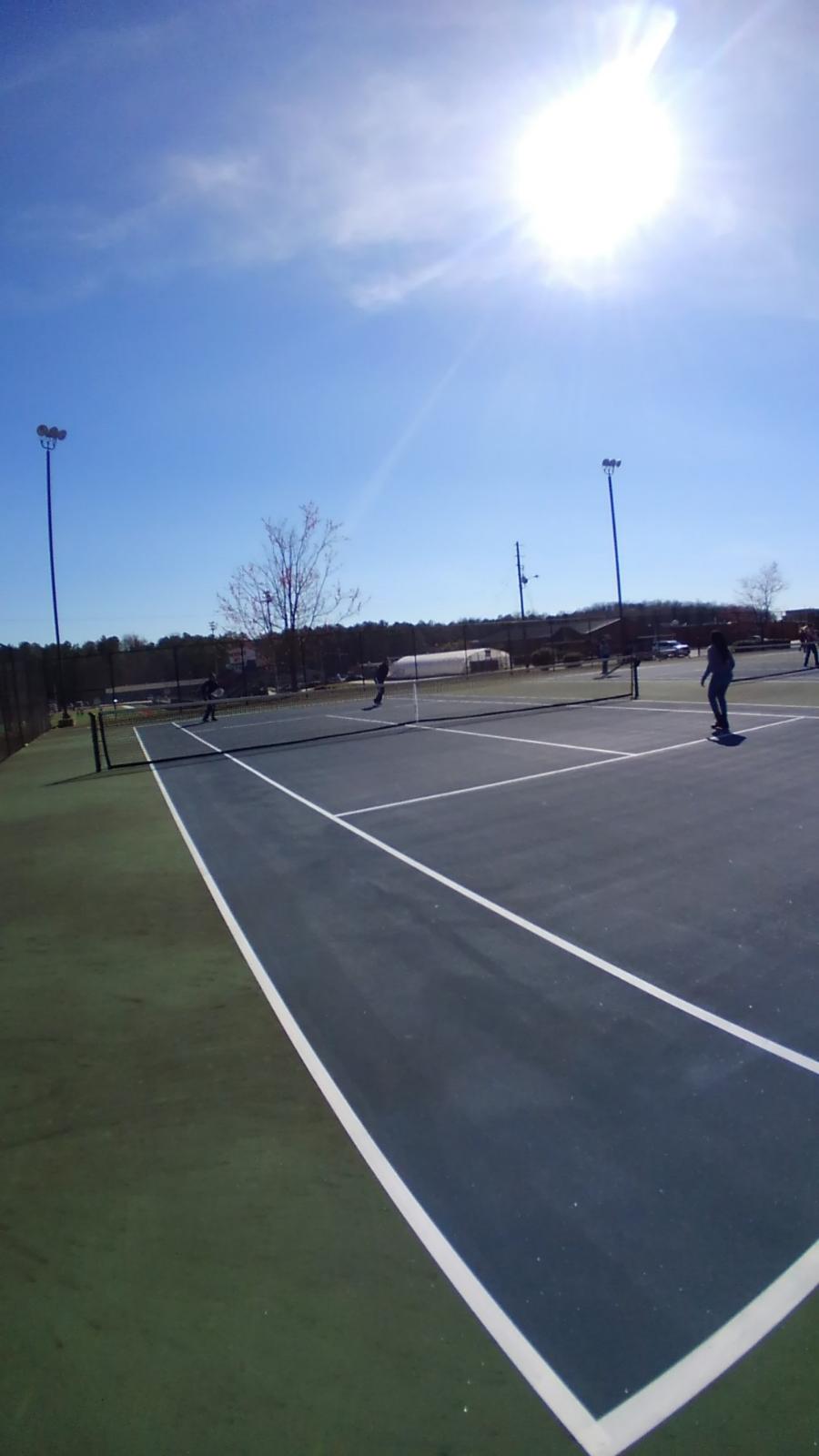 Lady Patriot Tennis Tryouts Jan. 7th-8th