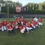 Lady Patriots Varsity Softball defeats McEachern 14-6