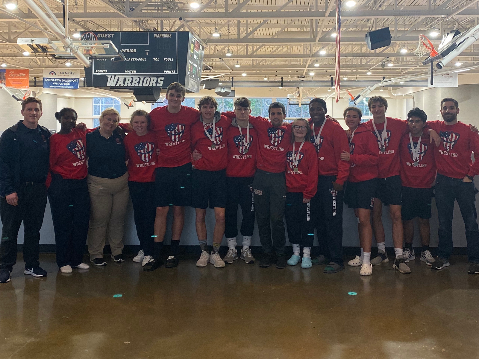 4 Patriots earn individual Titles, 6 others place at Warrior Invitational