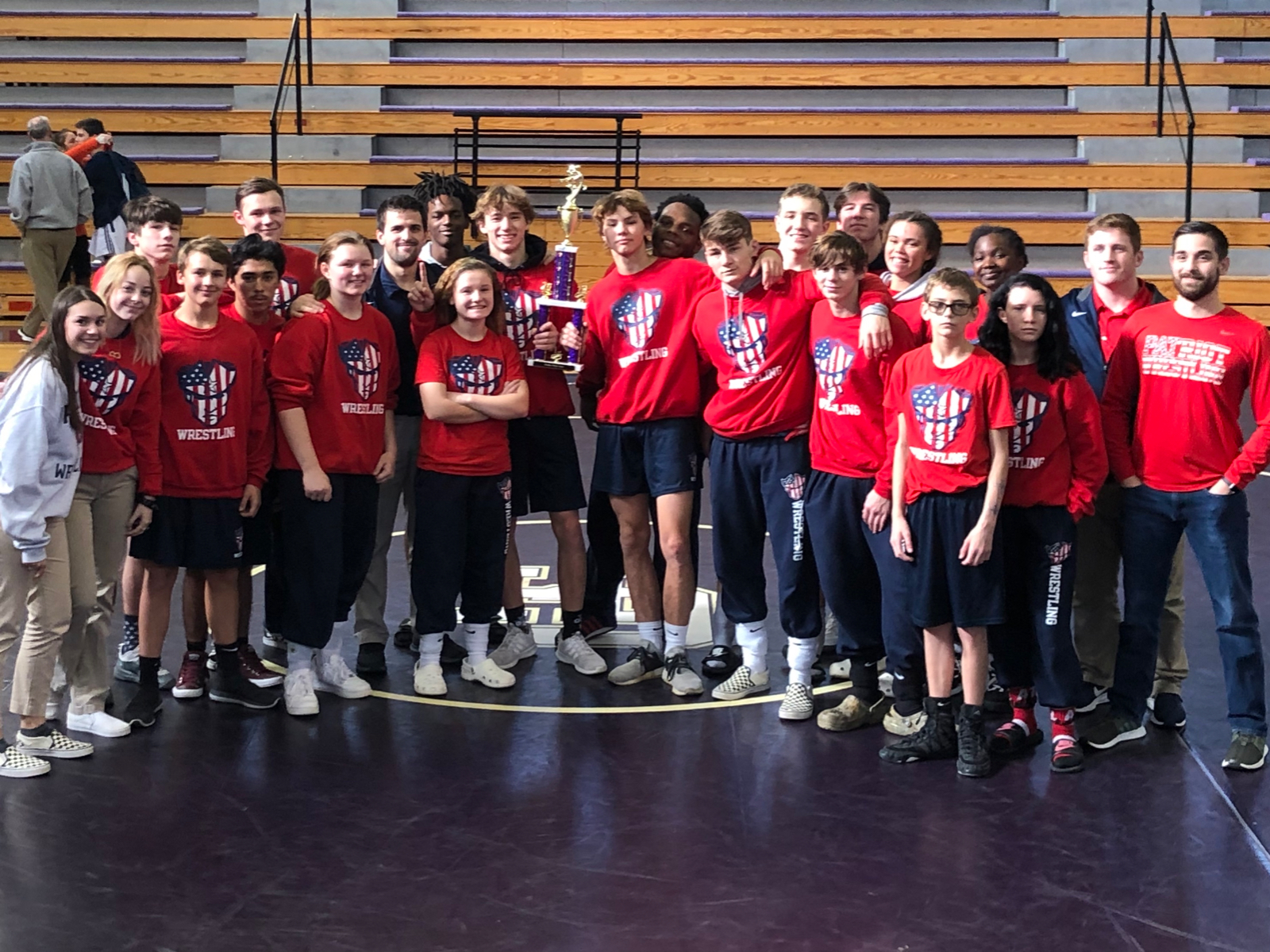 Patriots win Panther Pride Duals!