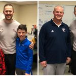 OU Coach Visits Paulding Co HS