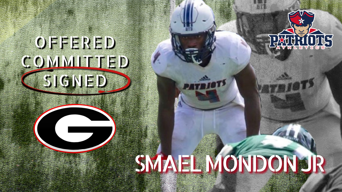 Smael Mondon Jr Officially Commits