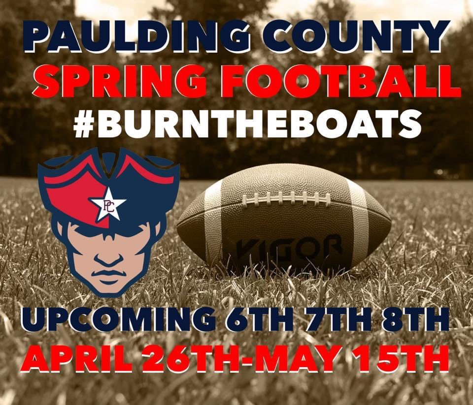 Spring Football Announced