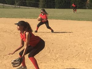 Softball Team in Action!