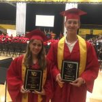 Zadeh & Zabiegalski Named Outstanding Athletes