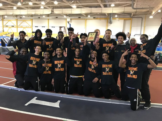 NP Boys Indoor Track SMAC Champions!!