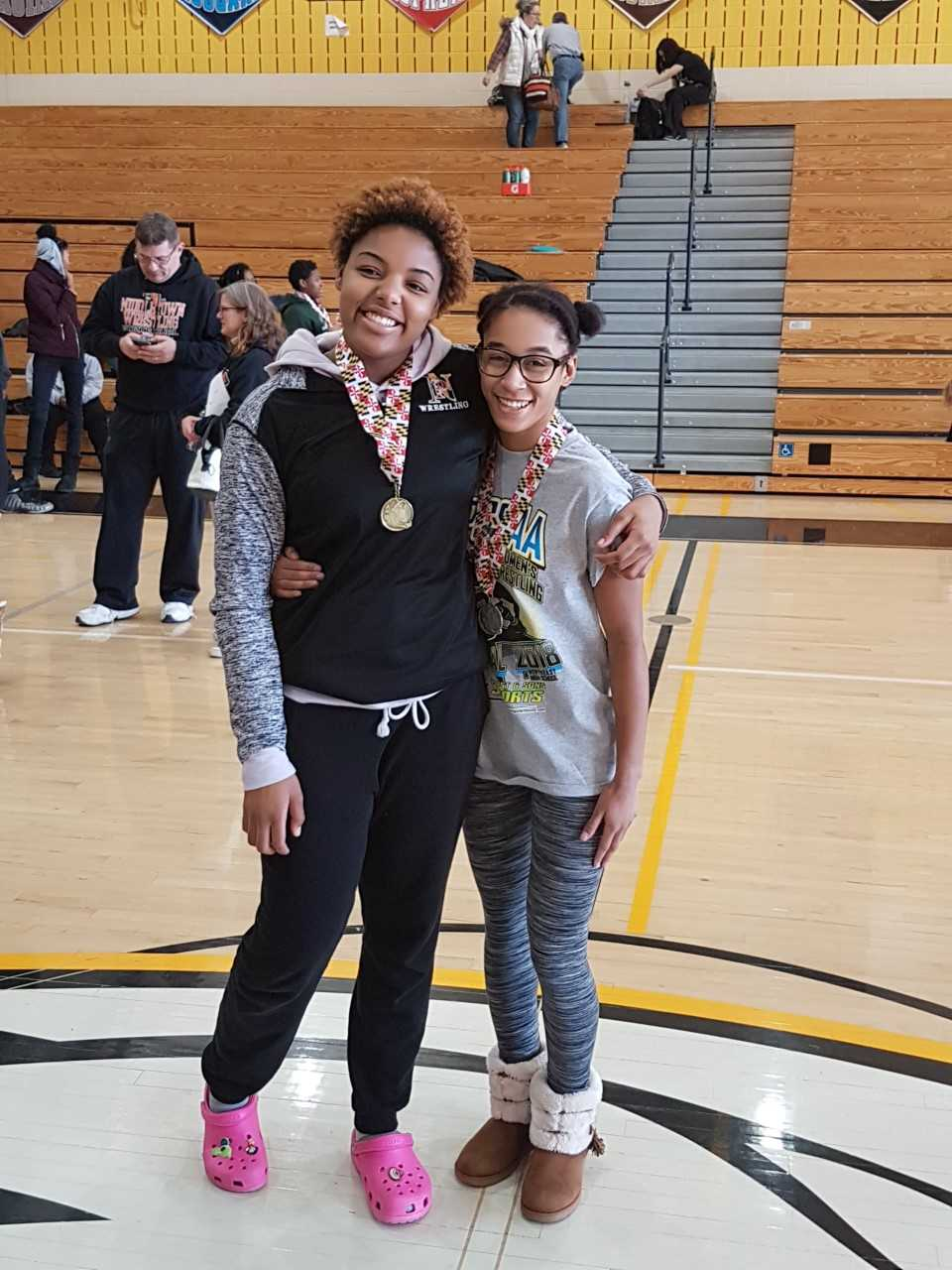 NP's Girl Wrestlers Shine at State Open Meet
