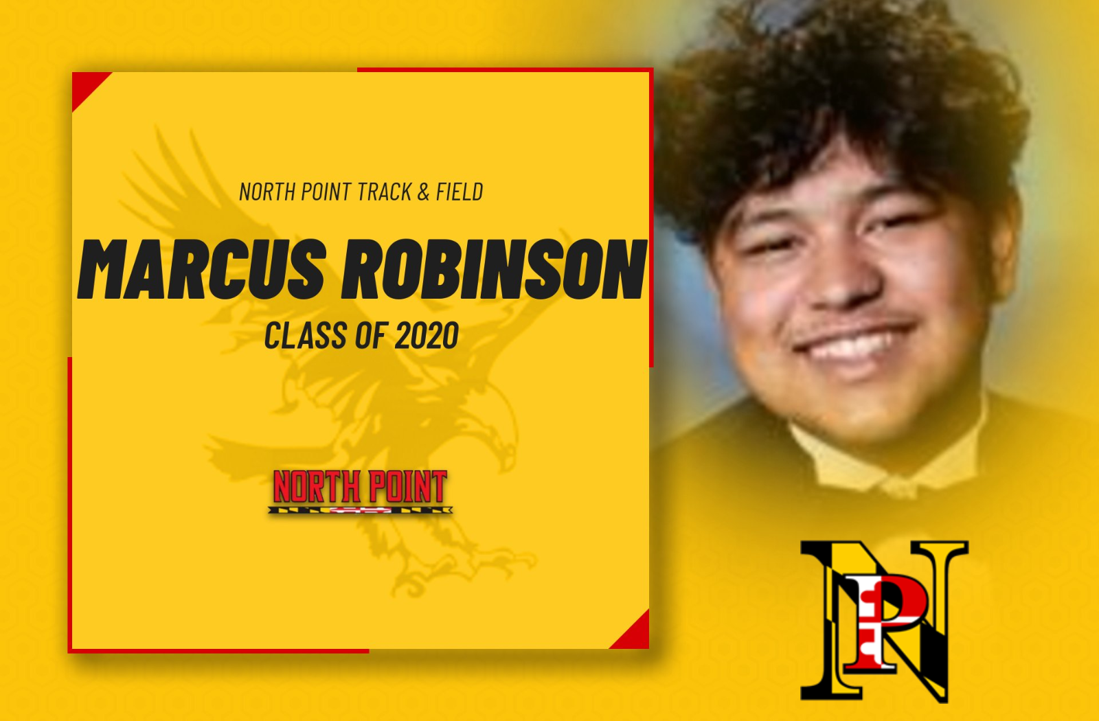 Class of 2020- Marcus Robinson, Track & Field
