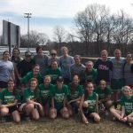 Summerville High School Girls Varsity Soccer beat Alumni 3-2
