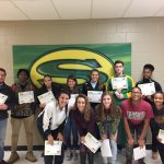 January Tony Pope State Farm-Kickin' Chicken Student Athletes of the Month