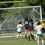 Girls Junior Varsity Soccer beats Porter-Gaud School 3 – 1