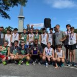 Boys Varsity Cross Country finishes 1st at ARK Race