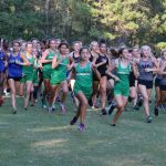Girls Varsity Cross Country finishes 1st place at Stall Warrior invitational