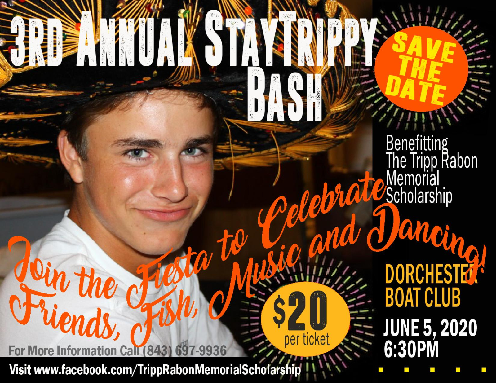 3rd Annual Stay Tripp Bash – DATE CHANGE: July 25th