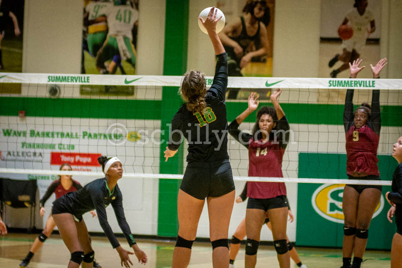 AR @ Summerville Volleyball