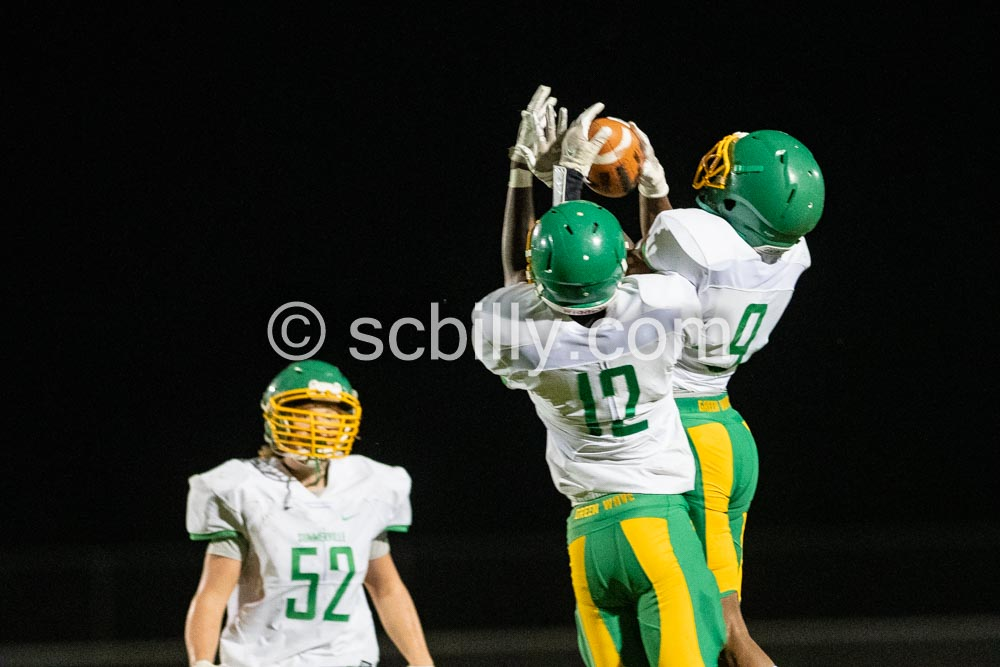 Summerville Football JV & B Team vs Ashley Ridge