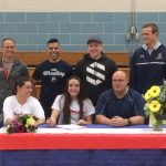 Bonneville High School Wrestler signs letter of intent