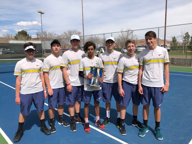 BHS Boys Tennis Take 2nd