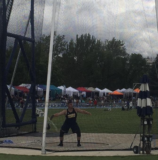 Lucas Walton Showed up big at State Track