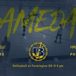 Volleyball @ Farmington 9/24