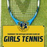 Tennis @ Box Elder