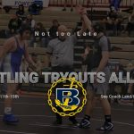 Wrestling Tryouts All week 11th-15th