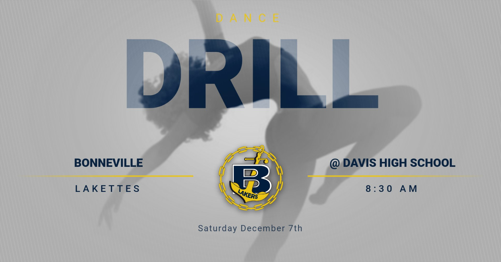 Drill Competition this Saturday @ Davis High