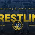 Laker wrestling @ Layton Tournament