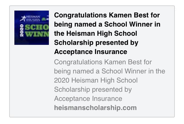 Congratulations Kamen!!!
