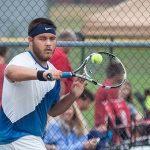 Waldron High School Boys Varsity Tennis beat Tri High School 5-0