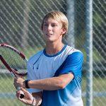Waldron High School Boys Varsity Tennis beat Morristown High School 3-2