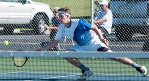 Boys Tennis – Waldron vs. Greensburg 8/23/16