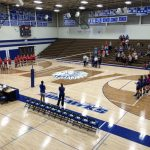 Waldron High School Girls Varsity Volleyball falls to Jac-Cen-Del High School 3-0