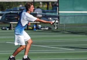 Boys Tennis – Waldron vs. Shelbyville 8/29/16