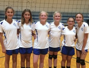 Jr. High Volleyball – Waldron vs. North Decatur 8/30/16