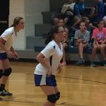 Waldron Girls 7th Grade Volleyball beat North Decatur High School 2-0