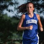 Waldron High School Girls Varsity Cross Country finishes 3rd place