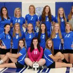 Waldron High School Girls Varsity Volleyball falls to Rushville 3-1