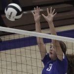 Waldron High School Girls Varsity Volleyball falls to Hauser High School 3-0